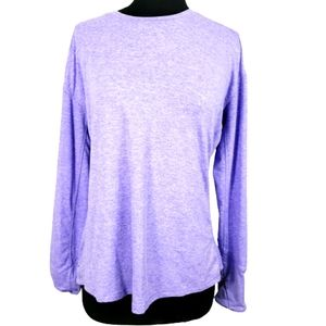Avia Purple Stretchy Athletic Top